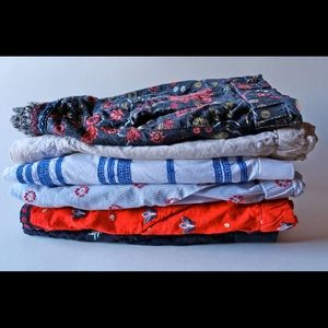 Loft Medium Shorts Bundle of SIX Patterned items